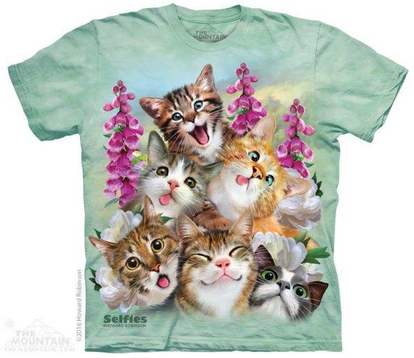 Kittens Selfie  - The Mountain
