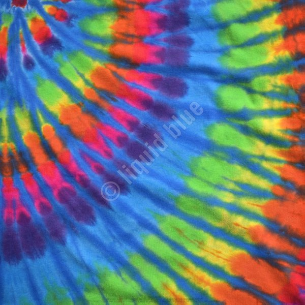 Rainbow Blue Streak - Liquid Blue