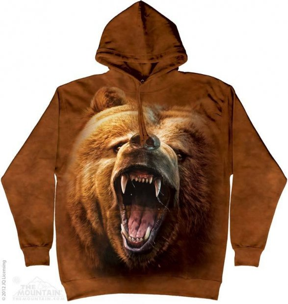 Grizzly Growl - Mikina The Mountain