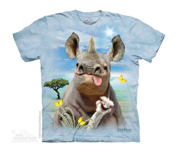 Rhino Selfie -Junior The Mountain