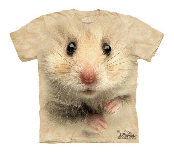 Hamster Face - The Mountain - Tričko Junior