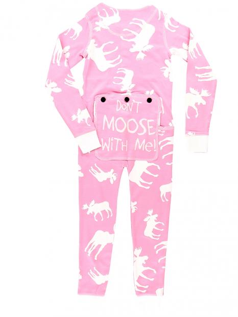 Classic Moose Pink Flapjack Junior – LazyOne