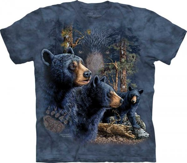 Find 13 Black Bears - T-shirt The Mountain