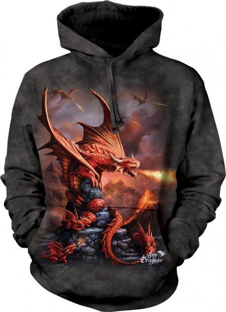 Fire Dragon - Mikina The Mountain