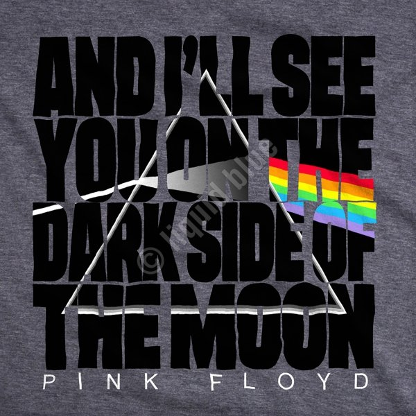 Pink Floyd -The Dark Side - Liquid Blue