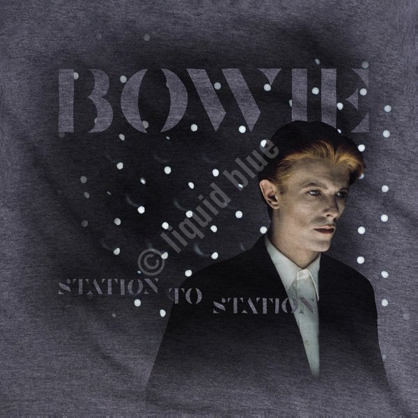 David Bowie Station to Station - Liquid Blue