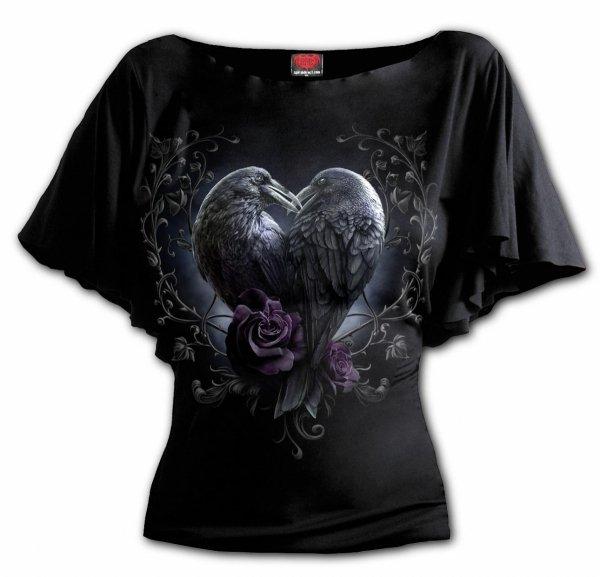 Raven Heart Bat - Spiral - Ladies