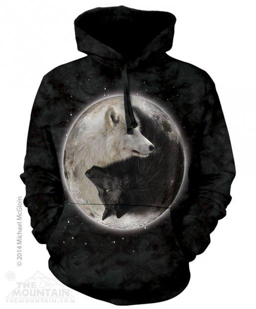 Yin Yang Wolves - Mikina The Mountain