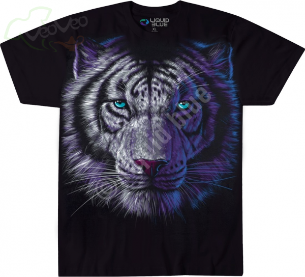 White Tiger - Liquid Blue