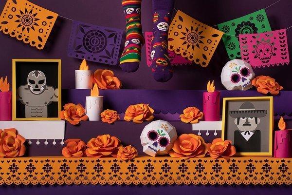 Fiesta Mexicana - Skarpety - Many Mornings