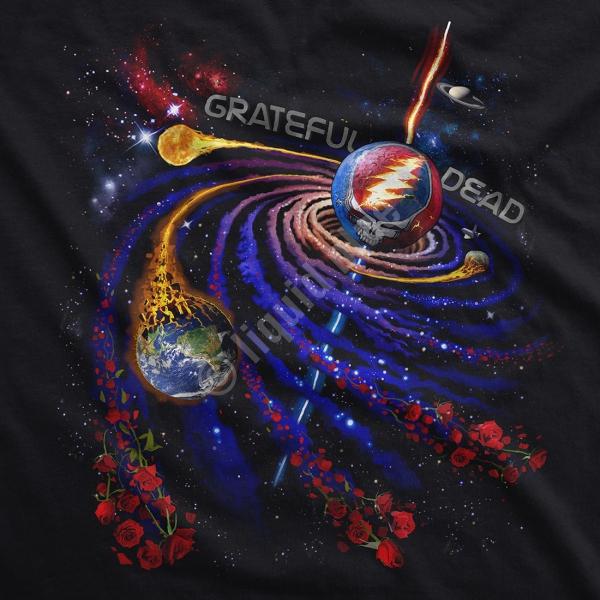 Gratefull Dead Steal Your Orbit - Liquid Blue