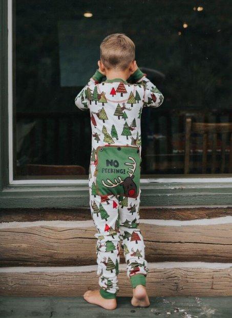 No Peeking! Flapjack - Dziecięca Piżama Pajac - LazyOne