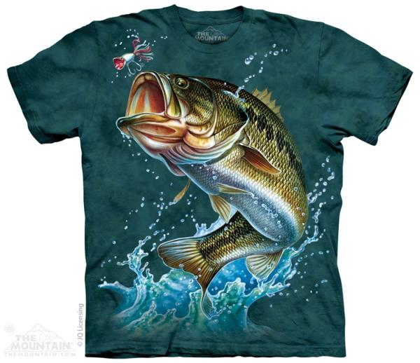 Bass - Okoń - T-shirt The Mountain