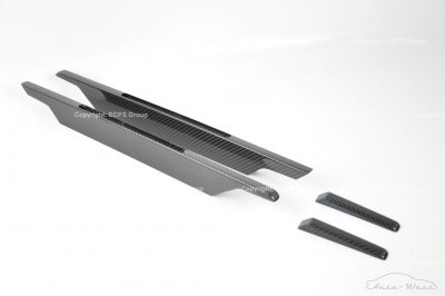 Aston Martin DBS Carbon side strakes and door trims