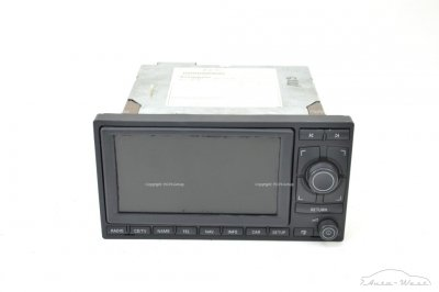 Lamborghini Gallardo LP500 LP520 Spyder radio GPS navigation CD DVD player