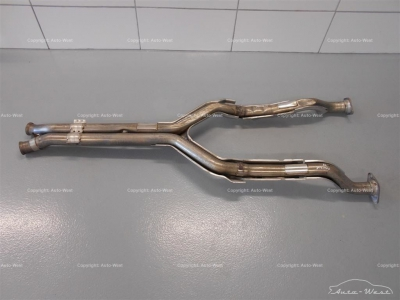 Aston Martin V8 Vantage OEM Exhaust pipes damaged