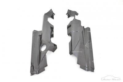 Lamborghini Aventador Engine bay carbon panel left + right