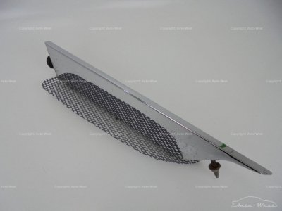 Aston Martin Vantage RH side wing fender chrome trim grille