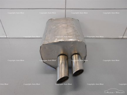 Ferrari 456 M GT GTA F116 Right exhaust muffler silencer