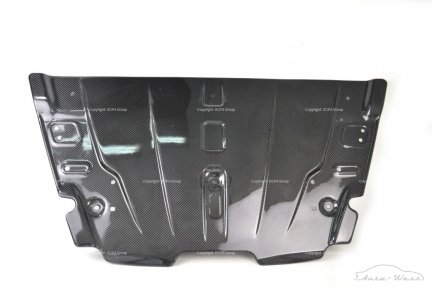 Aston Martin Vantage V8 Front carbon slam radiator grille cover panel