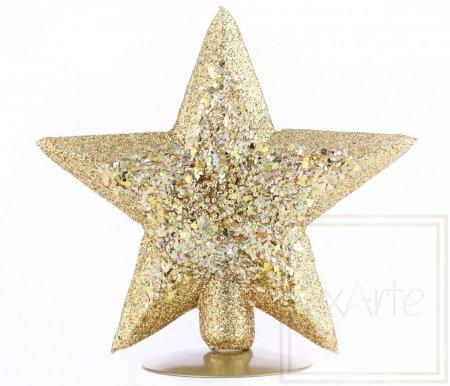 Stern 22cm - Goldig