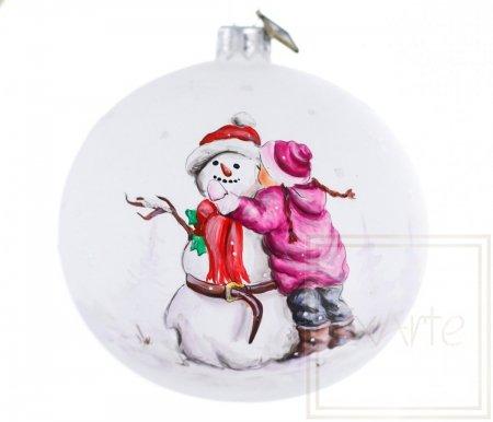 Kula 10cm - Śnieżny przyjaciel