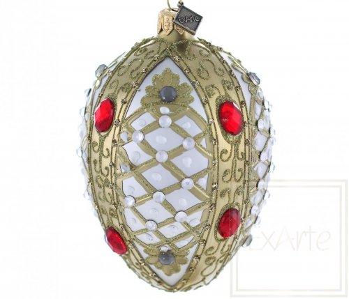 Jajko 13cm - Rubinowy szlak