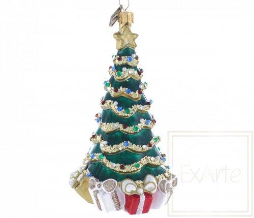 Weihnachtsbaum mit Geschenken - 14cm