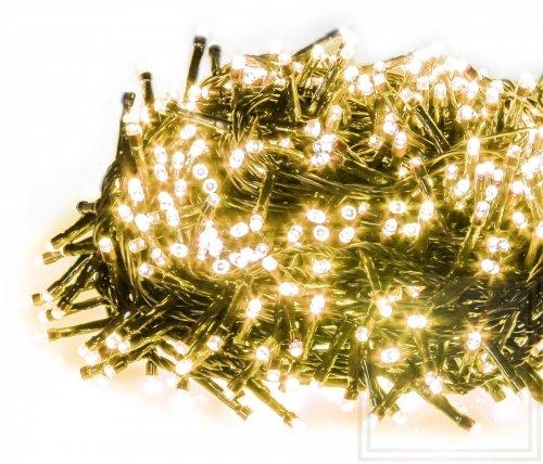 Weihnachtslämpchen Straightlight mit hoher Lichterdichte - Länge 34m, warmes weißes Licht