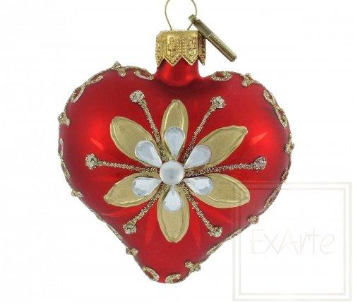 Herz 5cm – Wucherblume