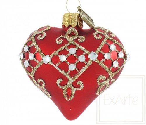 Herz 5cm – Diamant-Karo