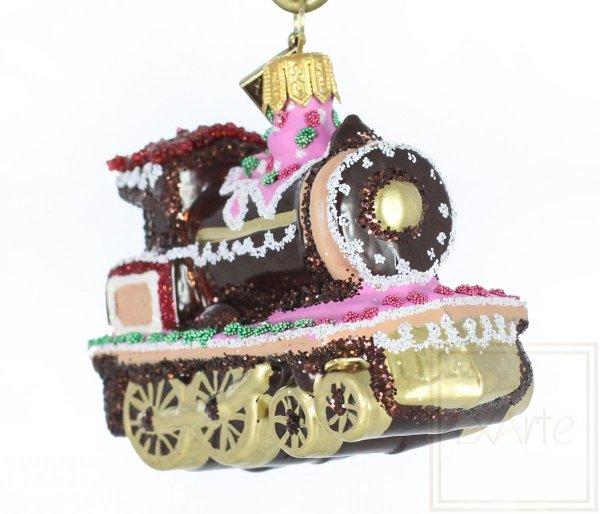 szklana bombka lokomotywa