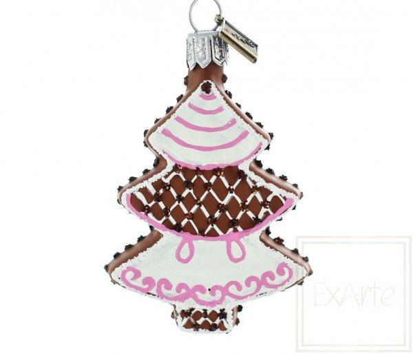 Weihnachtsbaum 6 cm - Lebkuchen