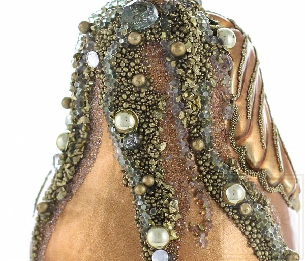 Birne 11cm – Goldig