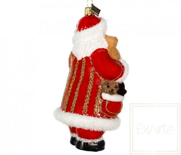 Weihnachtsmann 16 cm -  Mit Teddys