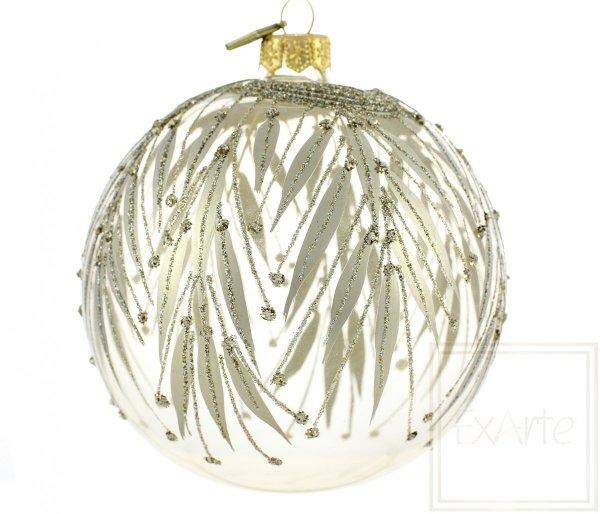 bombka kula bezbarwna / Transparente Weihnachtskugeln / Transparent christmas tree bauble