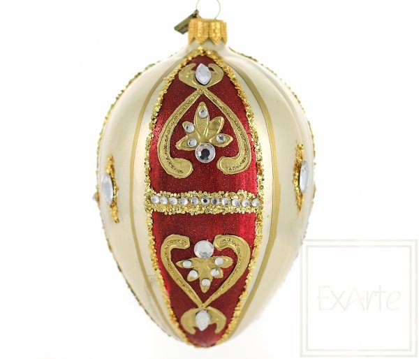 Jajko 13cm - Złota sonata