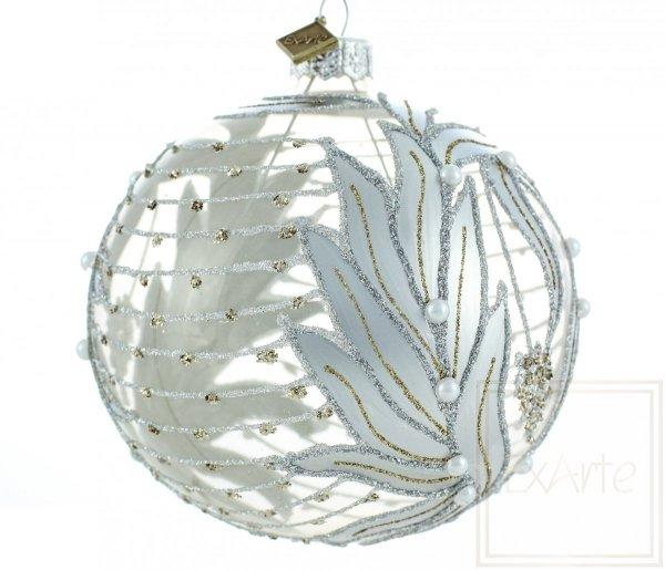 Christbaumkugel - 10cm, Christmas tree ball - 10cm, Świąteczna bombka na choinkę - 10cm