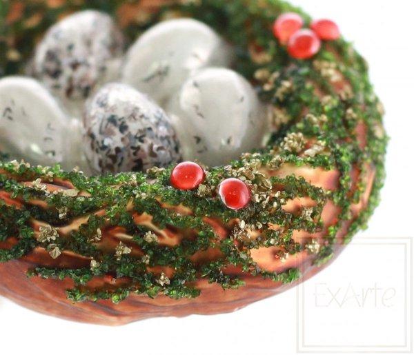 Nest 9 cm – Grün