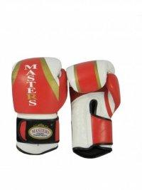 Rękawice bokserskie MASTERS - RBT-501 -skóra naturalna