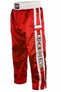 Spodnie sportowe długie MASTERS - SKBP-100A-czerwone