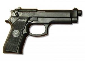 Pistolet gumowy replika broni BERETTA 92-F