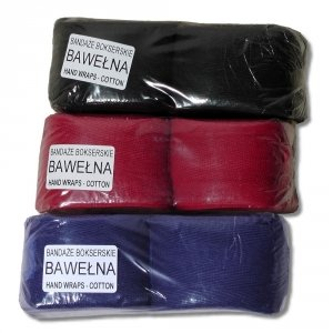 Bandaż bokserski - pod rękawice bokserskie