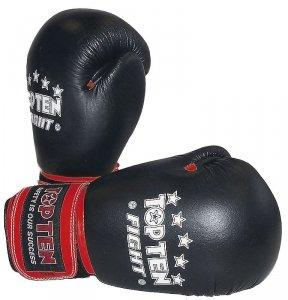 Rękawice TOP TEN FIGHT - skóra