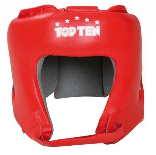 Kask bokserski Top Ten Aiba skórzany