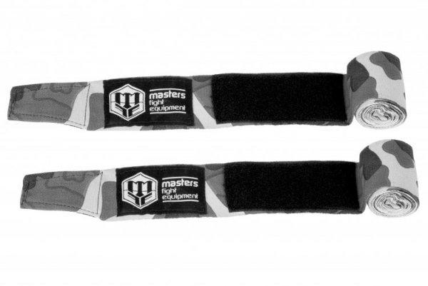 Bandaże bokserskie BBE-MFE CAMOUFLAGE 3,5 m szary