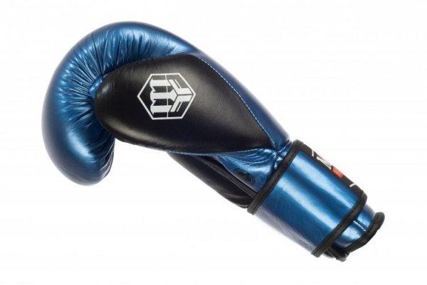 Rękawice bokserskie skórzane RBT-METALIC