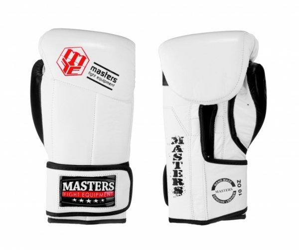 Rękawice bokserskie RBT-MFE 10 oz -białe