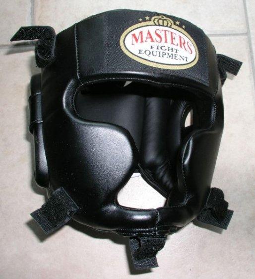 Kask bokserski MASTERS z kratką - KSS-4BPK