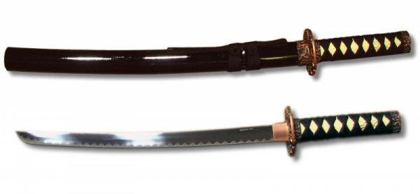 Wakizashi - czarna oprawa
